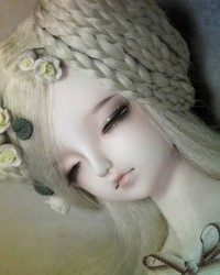 42cm Elf Rena Sleeping Head