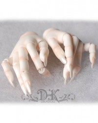 DK 1/3 Male Jointed Hands