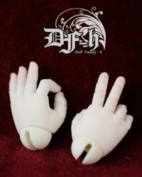 DF-H 38cm Chubby Baby Jointed Hands