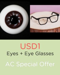 (Event) USD1 Eyes + Eyeglasses