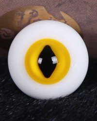 Cat Eye Yellow 14mm