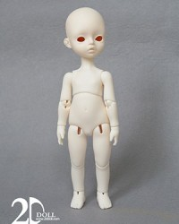 2D 25cm Girl Body
