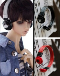 BJD Headphone-01 White