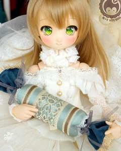 BJD Pillow-04 Green