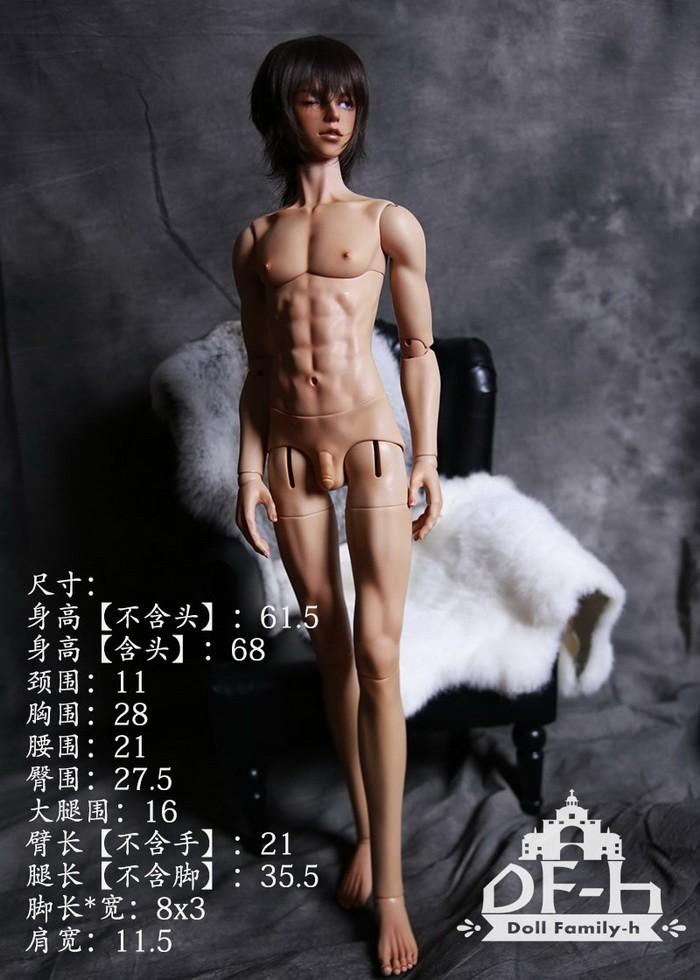 DF-H 68cм Мужское тело