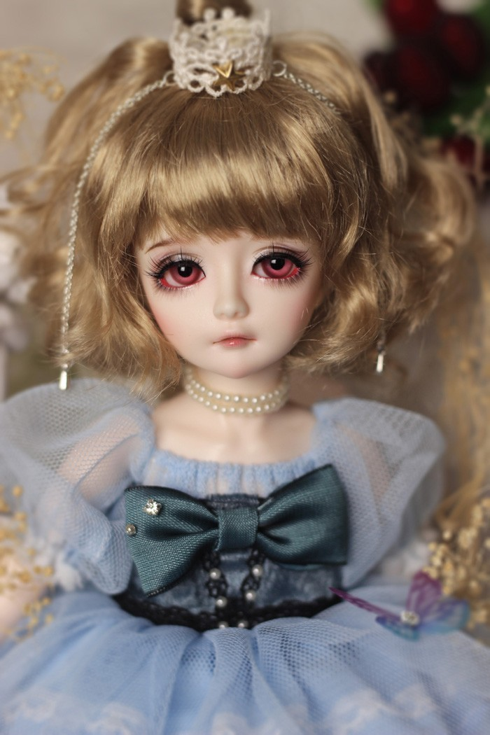 BJD Blueerry 26.5cm Girl Ball-jointed doll_ALM 1/6 DOLL