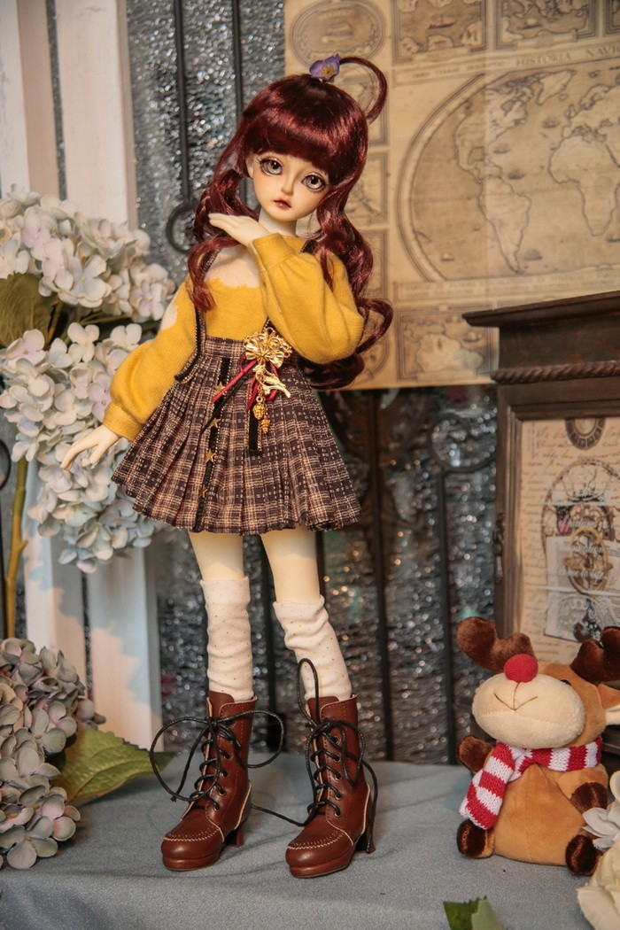 BJD Dolores 42.5cm Girl Ball-jointed doll_ALM 1/4 DOLL_ALM
