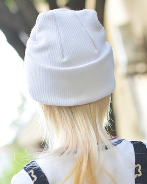 BR-Hat01 White - Click Image to Close