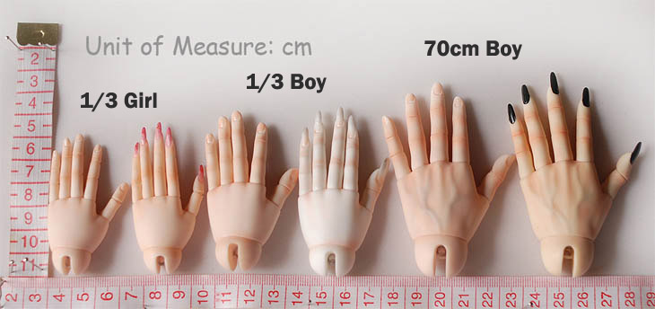 jointed hands dika doll bjd dolls accessories alice s collections