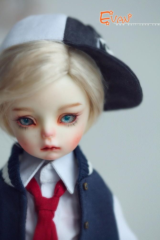 BJD 29cm Evan Boy Ball-jointed doll_DZ BB Size Doll