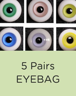 12mm Special Eyebag (5 Pairs) - Click Image to Close