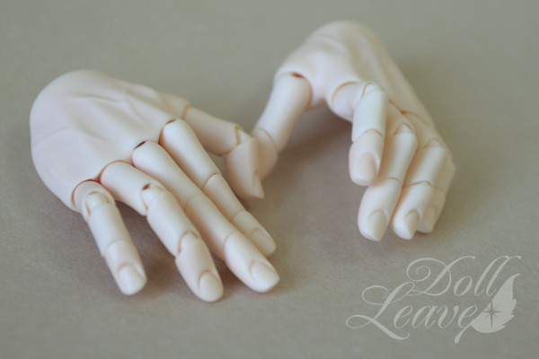 Doll Leaves 1/3 Male Jointed Hands: Fits for Doll Leaves 60cm male ...