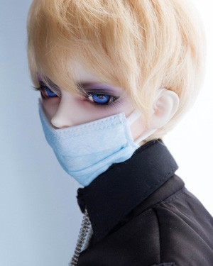 BJD Mouthmask-01 White - Click Image to Close