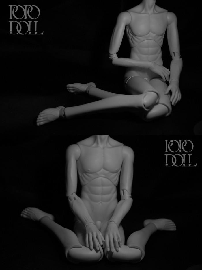 Мужское тело 70 см