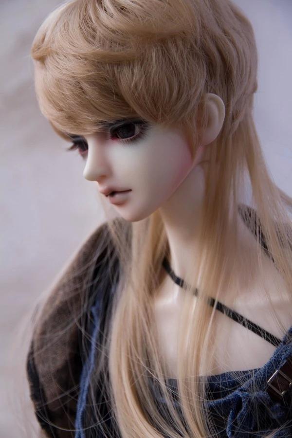 Бжд куклы парик своими руками 42